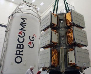 Orbcomm satellite encapsulation