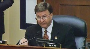 U.S. Rep. Mike Rogers (R-Ala.) questioned whether the Air Force can capably run space programs after trouble with its weather satellite program. Credit: House Armed Services Committee
