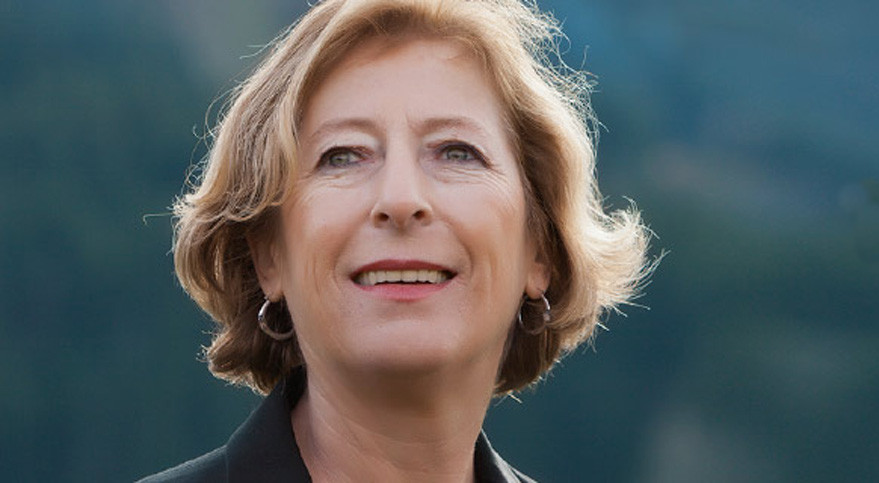 The French government has asked former minister Genevieve Fioraso to assess rocket reuse and how French satellite builders can work with Google and other Internet players. Credit: Genevieve Fioraso