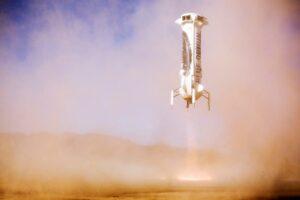 New Shepard landing