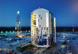 Russia is working to complete the Vostochny Cosmodrome in time for an April launch.  Credit: vostokdrom.ru