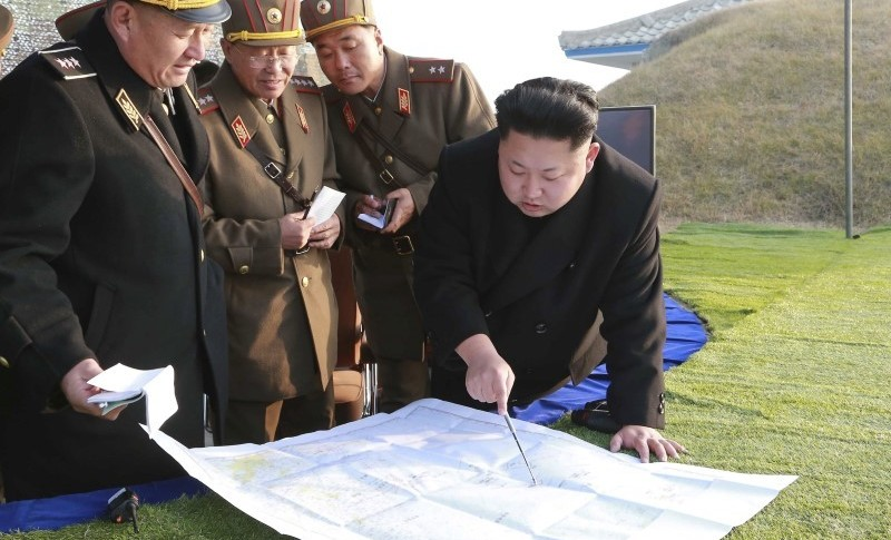 North Korean leader Kim Jong Un organizes and guides a combined joint drill of the units under KPA Combined Units 572 and 630 in this undated file photo released by North Korea's Korean Central News Agency (KCNA) in Pyongyang November 23, 2014. Credit: REUTERS/KCNA/Files