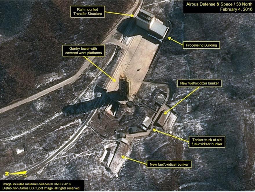 North korean rocket puts object into space angers for Bureau 38 north korea