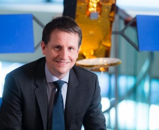 Incoming Eutelsat CEO Rodolphe Belmer says the consumer satellite broadband JVs with ViaSat do not presage a Eutelsat withdrawal from the market, but a deeper approach to it. Credit: Eutelsat