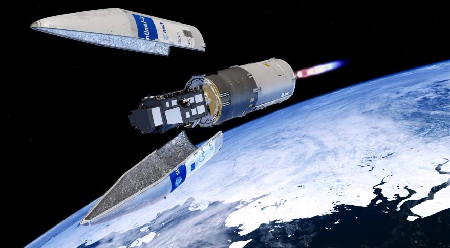 Sentinel 3A Breeze and Rockot- ESA