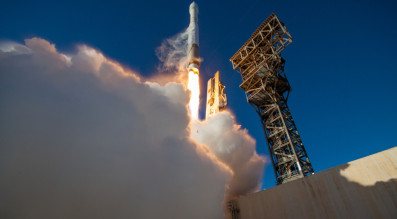 United Launch Alliance successfully launched Feb. 5  an Atlas 5 rocket carrying the GPS 2F-12 satellite for the U.S. Air Force. Credit: ULA.