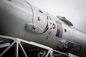 A SpaceX Falcon 9, shown above rolling out to the pad for its Jan. 17 launch of the Jason-3 satellite, will launch SES-9 on Feb. 24, according to SES. Credit: SpaceX