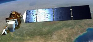 Artist's concept of the Landsat 9 satellite. Credit: NASA
