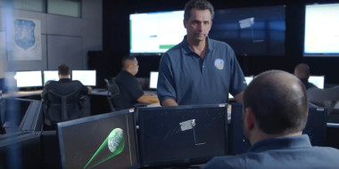 The Air Force said work on a new ground control system for GPS 3 satellites has triggered a Nunn-McCurdy breach. | Credit: Raytheon video grab