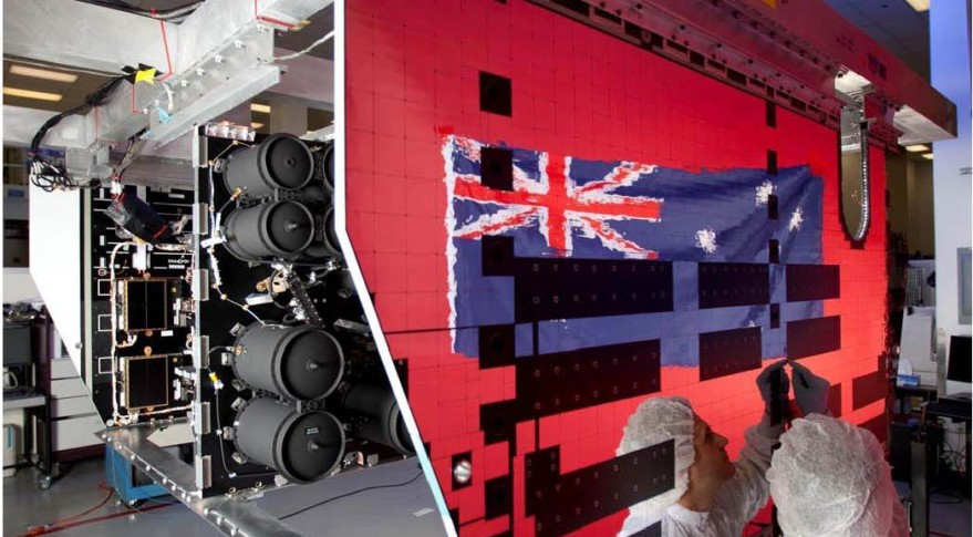 UHF Payload for Australian Defence Force