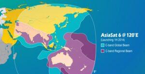 AsiaSat 6 coverage