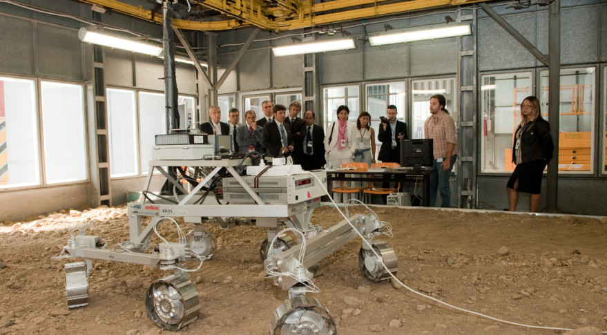ExoMars rover photo industry day