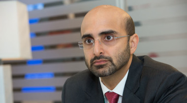 Masood M. Sharif Mahmood, Chief Executive Officer of  Yahsat. Credit: SpaceNews/Kate Patterson.