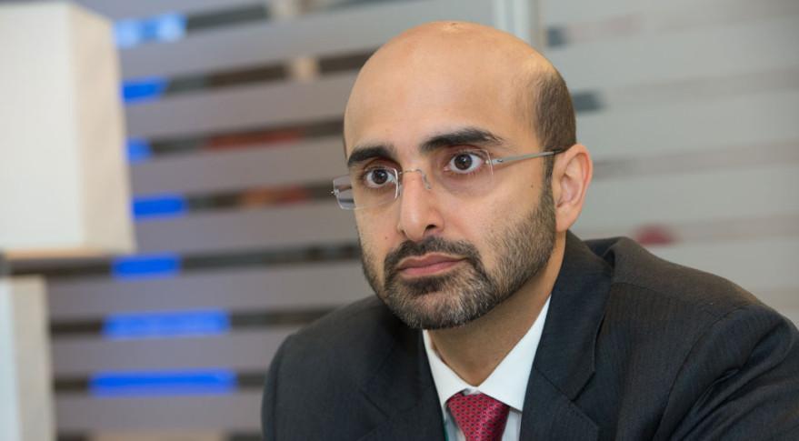 Masood M. Sharif Mahmood, Chief Executive Officer of  Yahsat. Credit: SpaceNews/Kate Patterson.