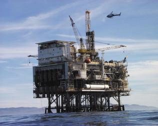 Oil Platform. Source: NASA JPL