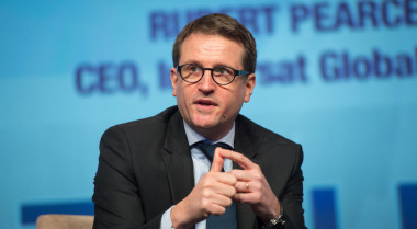 Eutelsat CEO Rodolphe Belmer. Credit: SpaceNews/Kate Patterson.