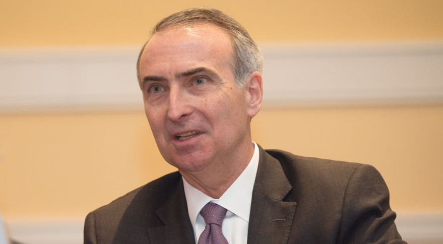 Stephen Spengler, CEO, Intelsat. Credit: SpaceNews/Kate Patterson.