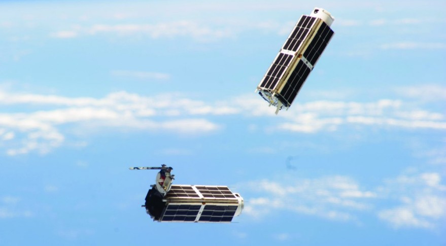 Planet Labs Doves ISS