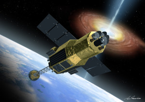 The U.S. Air Force said a malfunctioning Japanese astronomy satellite known as ASTRO-H was not hit by debris.  Credit: JAXA.