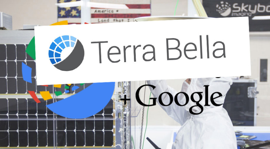Google's Skybox Imaging is now Terra Bella. Credit: SpaceNews graphic