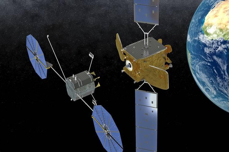 fabriquer un satellite
