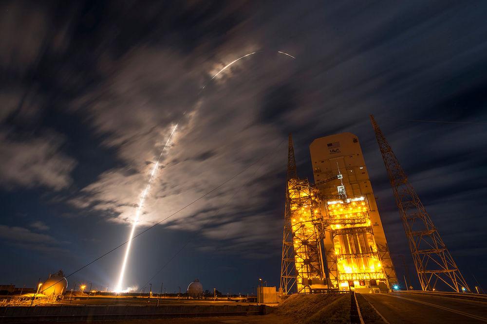 Atlas 5/Cygnus launch photo