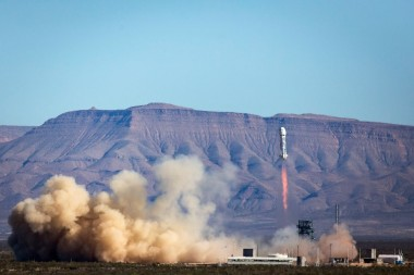New Shepard launch