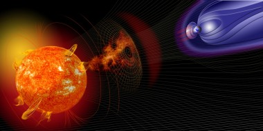 space weather illustration