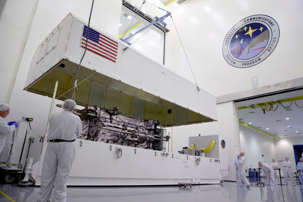 Air Force pits Boeing, Lockheed and Northrop for next group of GPS satellites