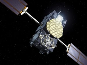 Galileo navigation satellite. Credit: ESA