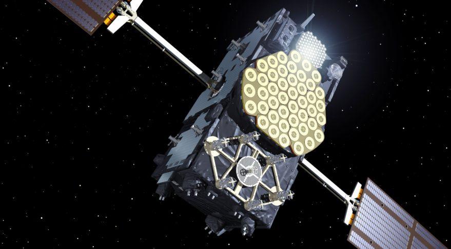 Galileo navigation satellite. Credit: ESA