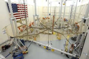 Harris 18-meter antenna TerreStar