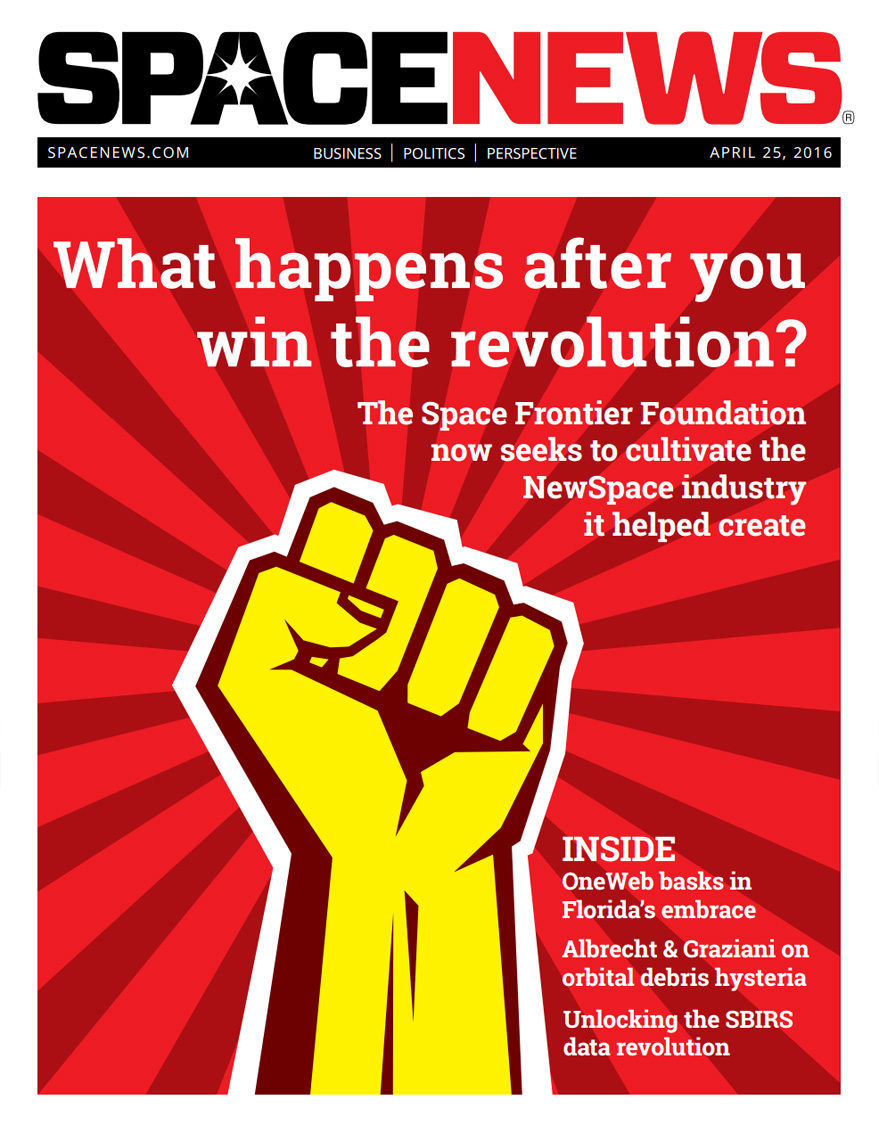 SpaceNews Magazine - April 25, 2016 - SpaceNews.com
