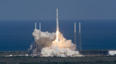 Falcon 9 Thaicom-8 launch