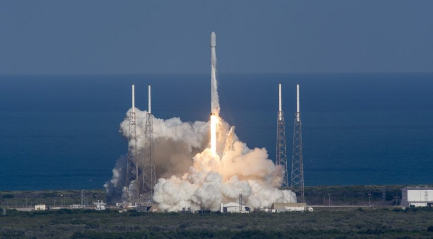Falcon 9 Thaicom-8 launch