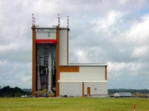Ariane-5 launch engine. Credit: Arianespace
