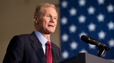 Sen. Bill Nelson (D-Fla.). Credit: NASA/Bill Ingalls