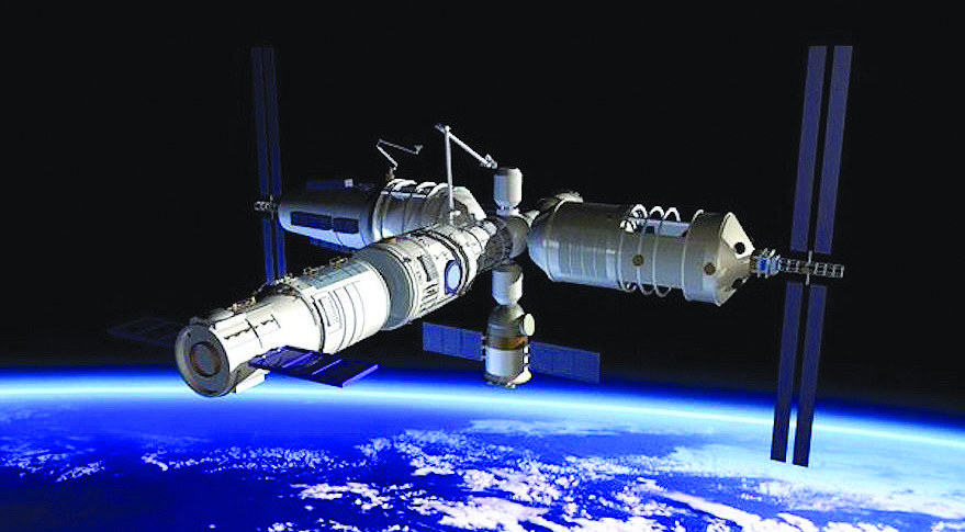 China ready to move ahead with development of a space ...