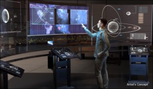 DARPA's new Hallmark program seeks to provide improved capabilities to rapidly plan, assess, and execute the full spectrum of U.S. military operations in space.  Credit: DARPA.