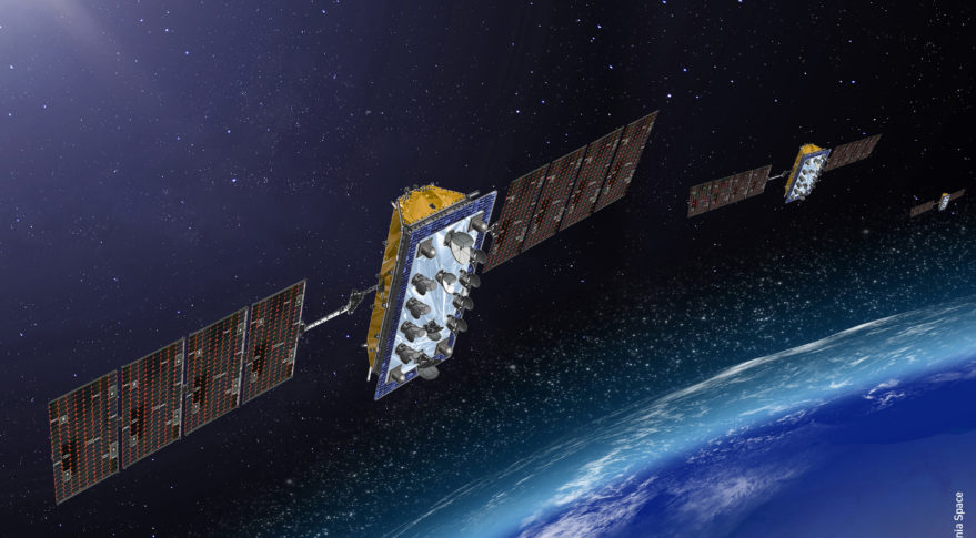 LeoSat satellite