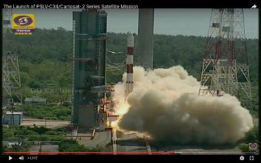 PSLV C-34 launch June 22 2016