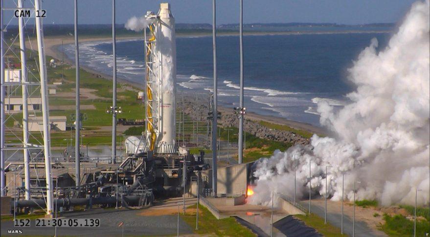 Antares hotfire test