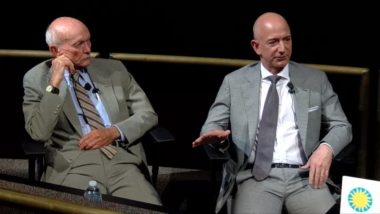 Collins and Bezos