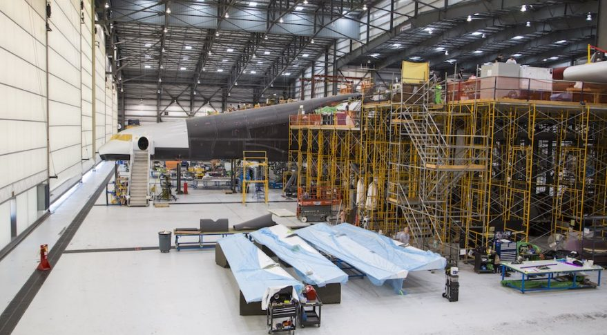 Stratolaunch fuselage
