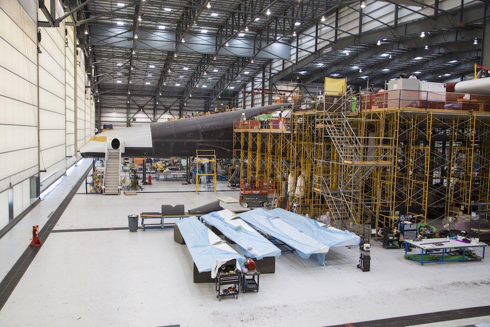 Stratolaunch fuselage