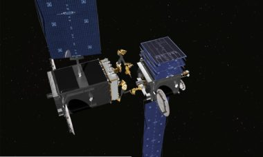 SSL has won a $20 million contract from DARPA to build two robotic arms that could  help repair or inspect damaged satellites. Credit: SSL.