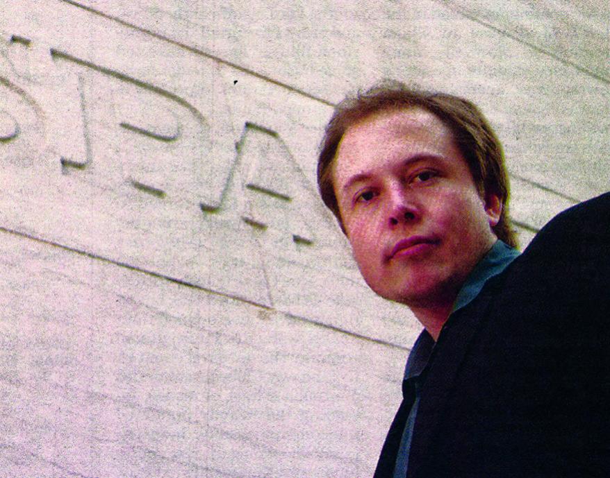 Rewind A 2003 Interview With Elon The Six Million Dollar Man Musk Spacenews