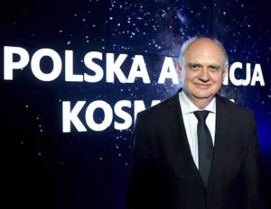 Marek Banaszkiewicz, the president of the Polish Space Agency, or POLSA. Credit: POLSA