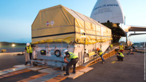 ARianespace IS-33e arrives