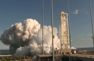 Orbital Antares RD-181 test firing